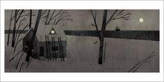 Extra Yarn page 13 (Night Scene) by Jon Klassen - Gallery Nucleus