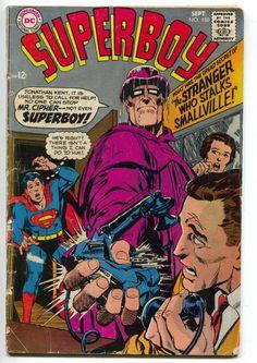 Superboy 150 DC 1968 GD Neal Adams Lois Lane 86 Ad Superman