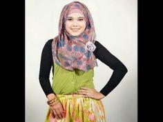 cara memakai jilbab segi empat arabian style pashimina & wide shawl ...