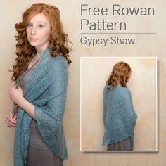 Free Rowan Knitting Pattern - shawl