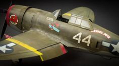 """P-47 Thunderbolt """"The Wicked Wabbit""""   1:48 scale"""