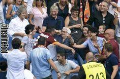 Lorenzi fête son but avec sa grand-mère (AS Rome-Cagliari) - http://www.actusports.fr/119059/lorenzi-fete-but-grand-mere-as-rome-cagliari/