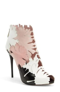 Beautiful Alexander McQueen 'Kimono' booties - Love love love these!
