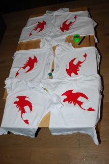 Hoe tem je een draak feestje / How to train a dragon party
