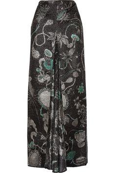 Shop Missoni Metallic Jacquard Maxi Skirt from stores. Model Rok Kebaya, Model Baju Hijab, Dress Muslim Modern, Kebaya Modern Dress, Muslim Fashion, Hijab Fashion, Fashion Outfits, Korean Fashion, Fashion Tips