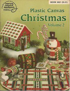Christmas Volume 2 Plastic Canvas Pattern by KnitKnacksCreations