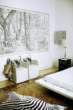 Dormitorio de Gaia - Universo Trussardi - TELVA.com