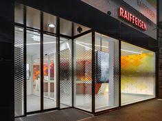 Schaffhausen Raiffeisen Bank branch by NAU Architecture and Drexler Guinand Jauslin Architekten