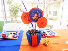 Los detalles para los niños,muy originales, gorros, vasos, centros de mesa y decoración con algún adorno, harán que tu fiesta sea maravillosa, te paso un imprimible de esferas del dragón -sólo da click para hacer en grande- Dragon Ball, Dragon Ball Z, ideas