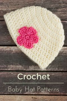 Crochet baby hats are so adorable! They can range from easy to intricate. Find a nice collection on crochet baby patterns here!