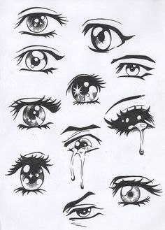 15 Best How To Draw Anime Eyes Images Anime Eyes Eye Drawing