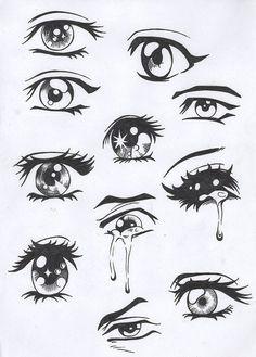 anime eyes !