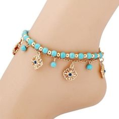 Anklets Jewelry 2017 New Bead Tassel Ankle Bracelet cheap shopping accessories For Women Summer Sexy Bohemian Barefoot Sandals Anklet Chain Foot Jewelry Sterling Silver Anklet, Silver Anklets, Silver Rings, Womens Jewelry Rings, Women Jewelry, Anklet Jewelry, Jewelry Bracelets, Jewellery Box, Bohemian Bracelets