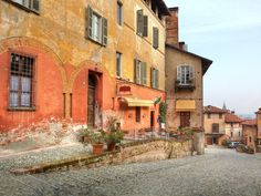 Just an hour's drive south of Turin, you'll find the sleepy medieval town of Saluzzo—a pretty sweep of red-tiled rooftops, bell towers, and ancient spires backed by the snow-capped Cottian Alps. Highlights include La Castiglia, a 14th Century castle, and the Casa Cavassa, a Renaissance palazzo-turned-museum that's home to some spectacular gold-leaf paintings and frescoes.