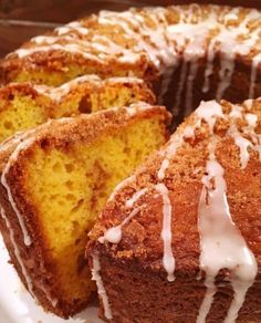 Moist Cinnamon Coffee Cake with a swirl of cinnamon and crumb topping made easy by using a box mix. French Vanilla Cake, Vanilla Cake Mixes, Vanilla Pudding Mix, Vanilla Icing, Cinnamon Cake, Cinnamon Coffee, Cake Mix Recipes, Bread Recipes, Box Cake Mix