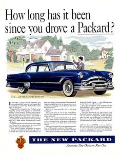 Secure Auto Shipping Inc Here is how we do it. #LGMSports transport it with http://LGMSports.com 1953 Packard Ad-14