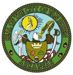Seal of the city of Van Buren, Arkansas