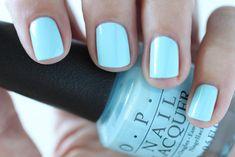 OPI Giveaway - OPI Retro Summer Collection Nail Sailing And Nailing Light Blue Cream Nail Polish