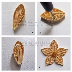 Image result for paper quilling step by step pictures