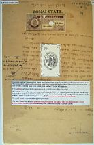 TAX STAMPS AND TAX STAMP PAPERS OF INDIAN FEUDAL STATE BONAI / EXPONET
