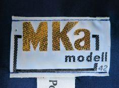 M Ka modell from a German 1970s dress