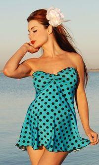 Bella Blu Maternity swim suit. Cute for my pregger friends this summer!!