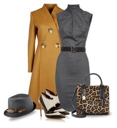 Leopard print handbag by depolo-marina on Polyvore featuring polyvore fashion style Dsquared2 STELLA McCARTNEY Prabal Gurung Michael Kors Justine Hats