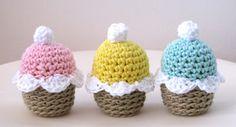Lady Crochet: Spring Cupcakes