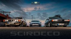 VW Scirocco Family