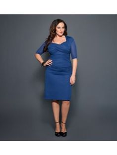 Roxie Ruched Dress.  Cheaper in non-bridal colors.