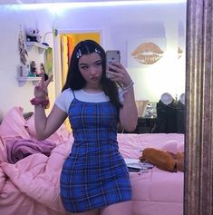 To be the most beautiful Amazing outfit ideas for you. The best and most beautiful outfits casuales Trend. Indie Outfits, Girly Outfits, Cute Casual Outfits, Grunge Outfits, Artsy Outfits, Vintage Outfits, Retro Outfits, Throwback Outfits, Look Fashion