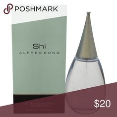 Shi by Alfred Sung Women's Launched by the design house of Alfred Sung in the year 2000.This feminine spray fragrance features a blend of lotus blossom, fig leaves, fresh sweet accords of orange blossom, shining tangerine, and night odorous flower frangipani. Alfred Sung Accessories