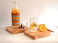 Set+of+two+cutting+boards,+Wooden+cutting+boards,+Small+cutting+boards,+Breakfast+boards,+Handcrafted+wooden+tray