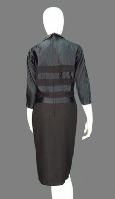 1stdibs.com   Pattullo-Jo Copeland silk and wool dress 1940s