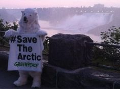 The Arctic is rising in Canada! #savethearctic