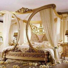 This bed is so stunning