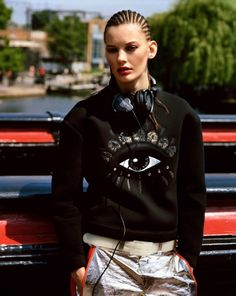 Amanda Murphy by Alasdair McLellan for Vogue Paris August 2013