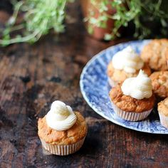 Spiced Parsnip Cupcakes Recipe — Dishmaps