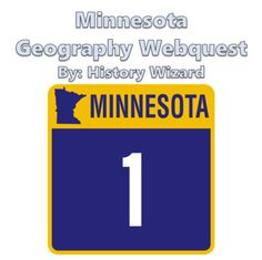 Minnesota Geography Webquest by History Wizard | TpT
