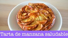 Tarta de manzana SALUDABLE / Recetas con Merce.