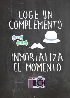 Cartel photocall. Photobooth
