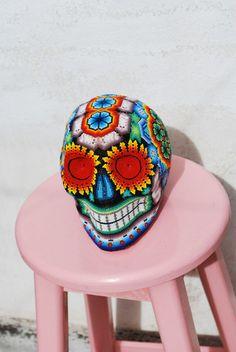 mexican handicraft pi-project pi handmade with love - PI-Project Pi Projects, Mexican Style, Handicraft, Captain Hat, Decoration, Skulls, Handmade, Interiors, Architecture