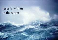 Christian inspiration. Storms come to teach us and once we learn the lessons they pass. Trust in the storms that come your way and know that you will endure and learn in and through faith - A.J. Mahari