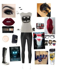 """""""Untitled #57"""" by walkingdeadgirl01 on Polyvore featuring Metal Mixology, Too Faced Cosmetics, Tervis, Converse, Barbara Bui, MAKE UP FOR EVER, Zoe Karssen, LAUREN MOSHI, Funko and Giorgio Armani"""