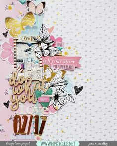 Beautiful clusters feature on this gorgeous layout by designer @janammcc. Jana used the #january2017 #hipkits to create her gorgeous layout!  @hipkitclub #hipkitexclusives #hkcexclusives #exclusives #hipkitclub #hipkit @1canoe2 #hazelwood @pinkpaislee #moostruck #butterflies #clusters #8.5x11 #papercrafting #kitclub #scrapbookingkitclub