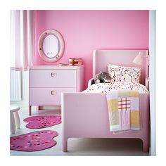 BUSUNGE Extendable bed IKEA Extendable, so it can be pulled out as your child grows. Solid wood slats offer firm posture support.