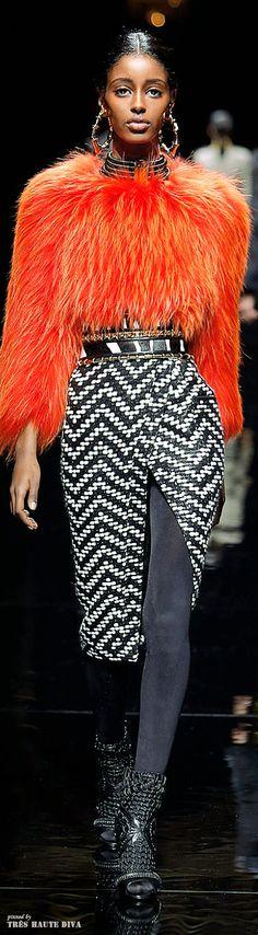 Balmain F/W 2014 - Paris Fashion Week