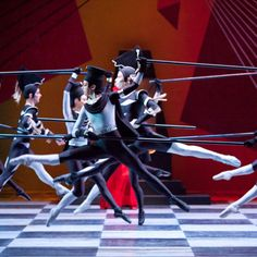 Artists of The Australian Ballet in Checkmate