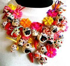 Image Result For Dia De Los Muertos Jewelry Day Of The Dead Party
