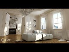 Photoreal interior with VRay (P1) - YouTube